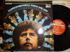 "HARRISON BIRTWISTLE ""Punch And Judy""  2LP NM/NM, DECCA Headline DAVID ATHERTON"