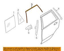 Bmw Oem 14-18 X5 Glass-Rear Door-Guide Channel Left 51357289667