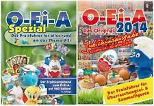 Kinder Catalogo- O-Ei-A 2014 Jubiläumsausgabe + O-Ei-A Spezial 2014