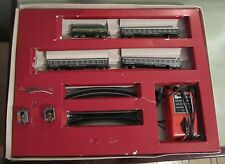 Trenino set 101 N del 1968 D.341 con vagoni rotaie e motori Lima made In Italy