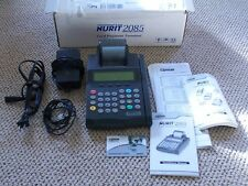 Lipman Nurit 2085, Nos 7.30 Credit Card pymt terminal, no contract, machine only