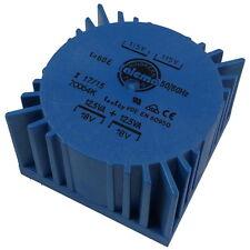 Talema 70064K Trafo 25VA 2x115V 2x18V 2x694mA Ringkern-Transformator 856820