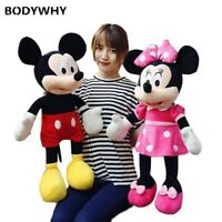 40-100cm Stuffed Cartoon Mouse Plush Toy Dolls Valentines Gifts