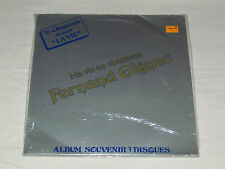 FERNAND GIGNAC Ma Vie En Chansons 3-LP SET NEW SEALED Quebec Organ French Music