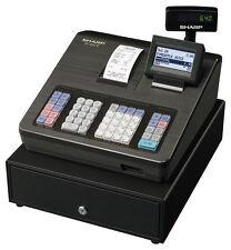 SHARP Registrier-Kasse Kassensystem GoBD-/GDPdU konform Schwarz 207 NEU