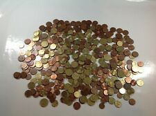 More details for euro & cents denomination coin bundle - mixed lot coins - 1.5kg sold by weight