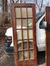 Oxf6 Antique Beveled Glass Oak French Door 30 X 83.25