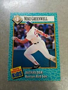 Mike Greenwell Boston Red Sox #31 MLB Sports Illustrated for Kids SI For Kids
