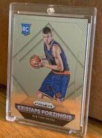 2015-16 Panini Prizm #348 Kristaps Porzingis RC Rookie Knicks