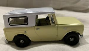 Rare Vintage Matchbox 1961 International Scout 1/43 Mint Condition
