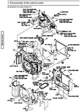 Minolta Dynax 5D Camera Service Repair Manual