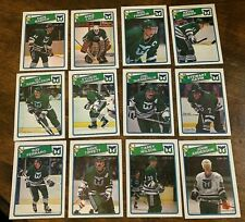 1988-89   O-Pee-Chee  HARTFORD WHALERS 12   card team set complete
