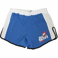 MMA FACTORY Renegade Muay Thai Style Shorts - Blue / White