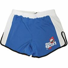 Mma Factory Renegade Muay Thai Style Shorts - Blue / White
