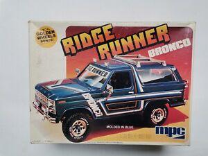 Ridge Runner Ford Bronco MPC 1-0437 1980 1:25 gebraucht