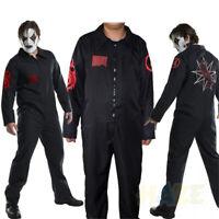 Band Slipknot Cosplay Kostüm Lose Overall Halloween Party Kostüm Erwachsene