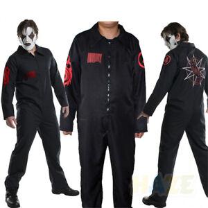 Band Slipknot Cosplay Loose Jumpsuit Halloween Performance Costume Men's