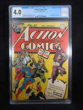 Action Comics #69    CGC 4.0    Double Cover     Prankster Cover   Wayne Boring