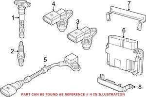 Genuine OEM Engine Crankshaft Position Sensor for Volkswagen 06K906433B