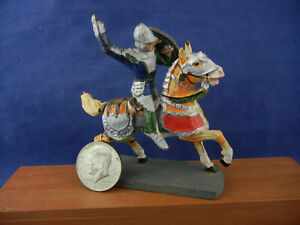 Vintage Mounted Medieval Knight ~ Made in Germany