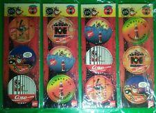 Vintage toy Coca Cola POGS card Set