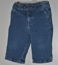 babyGAP Girls Size 6-12 Months Blue Stretch Front Zipper Denim Shorts