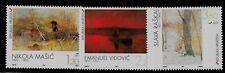 CROATIA SC 348-50 NH issue of 1997 - MODERN ART