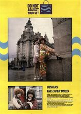 22/12/90 Pgn78 Picture Emma & Miki From Lush Posing As Liver Birds 15x11