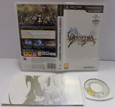 Console Game Sony Playstation PSP PAL ITA - DISSIDIA 012 duodecim FINAL FANTASY