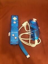 Rock Candy Remote Blue Nintendo Wii Wiimote Controller & Nunchuk
