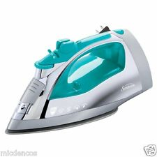 IRONS-Sunbeam Steam Master Iron w/Anti-Drip Non-Stick Stainless Steel Soleplate