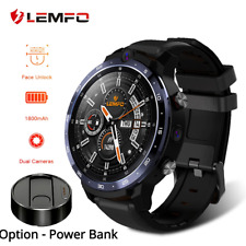 Lemfo LEM12 Face ID 1.6 Inch Dual Camera LTE 4G Smart Watch Android 7.1 1800mah