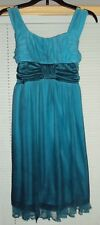 Girls MY MICHELLE Turquoise Summer Party Dress Size 10