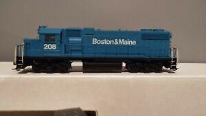 Athearn Ho B&M Boston And Main GP 38-2 Custom Paint Powerd