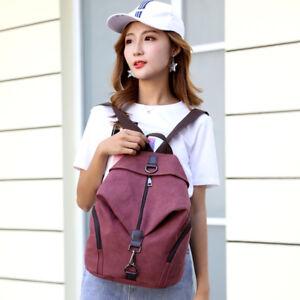 Women Canvas Backpacks Large School Bags School Bag Travel Backbag Daypacks New