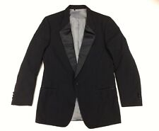 Christian Dior Mens Black Formal Tuxedo Blazer Jacket