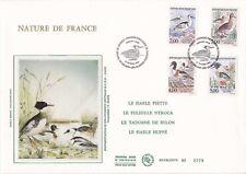 Enveloppe grand format 1er jour 1993 GF Soie Nature de France Canards