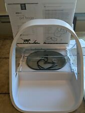 New listing Sure Petcare iMpfwt Microchip Pet Feeder Connect, SureFeed, White, hardly used