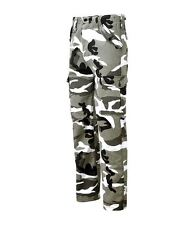 MENS ARMY MILITARY COMBAT TROUSERS CAMO CAMOUFLAGE AIRSOFT WORK  CARGO PANTS