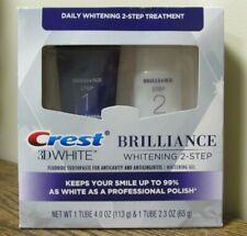 NEW!! Crest 3D White BRILLIANCE Toothpaste & Whitening Gel System (8781)