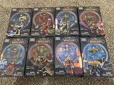 World Of Warcraft Mega Bloks NIB Lot Of 8 Figures (Karving, Wildhide, & Others)