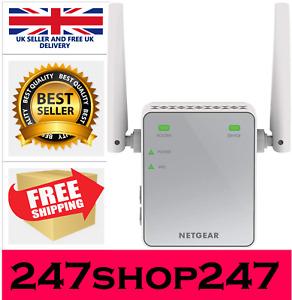 WiFi Range Extender Signal Booster Network NETGEAR Internet Wireless Repeater