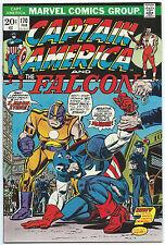 CAPTAIN AMERICA #170 Feb 1974 NM- 9.2 OWW Gil KANE & John ROMITA Cover MOONSTONE