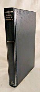 POEMA FISICO E LUSTRALE di Empedocle 1975 Mondadori con testo greco a fronte