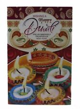 3D Pop-Up Diwali Wishes Greetings Cards Hindu Celebration Festival of Lights