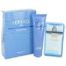 Versace Man Eau Fraiche Gift Set Cologne for Men 3.4 oz EDT + Shower Gel 3.4 oz