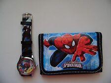 Spider-man  Kids  watch and wallet