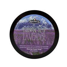 RAZOROCK Essential Oil of Lavender Shaving Cream Soap
