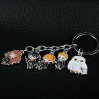 Harry Potter Charm Hedwig Draco Enamel Funny Novelty Keyring Keychain Gift Bag