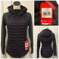 The North Face Endeavor Thermoball Full Zip Jacket Size S Purple Gray NWT $160